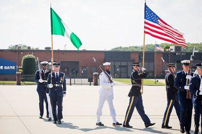 President Muhammed Buhari Arrives Washington  D.C
