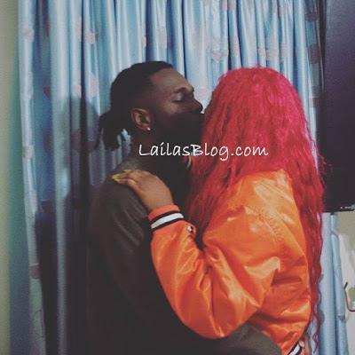 Cynthia Morgan and Burna Boy all PDA ,shared Passionate Kiss