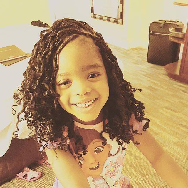 Happy Birthday to Janelle Okpocha( Basketmouth's baby Girl)