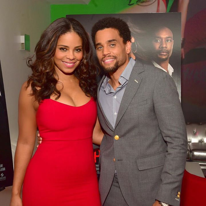 Sanaa Lathan and Michael Ealy Reunites at the Altanta Tour for the Perfect Guy Movie
