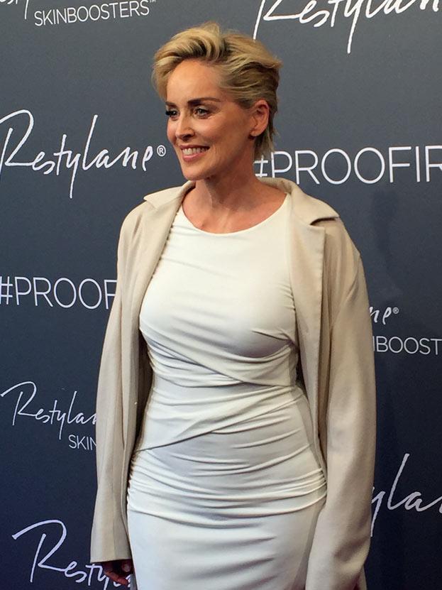 Sharon Stone poses Nude for Harper Bazaar Magazine