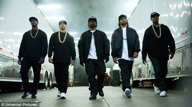 Straight Outta Compton hits $115.5 million in US