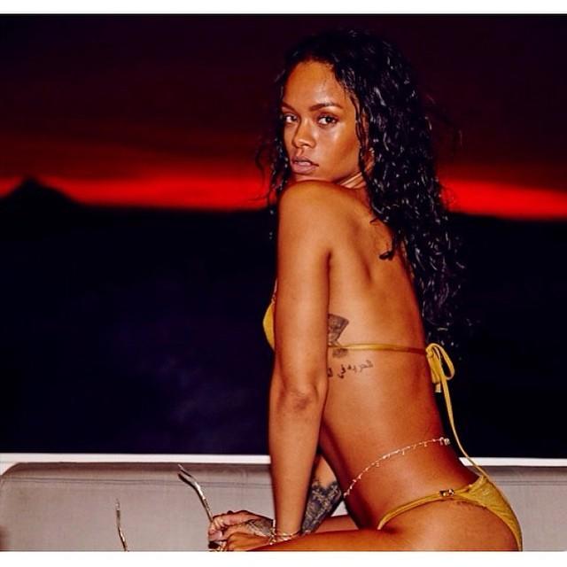 Rihanna Sexy  in Flashback Pics of  Brazil Photoshoot