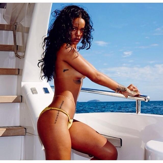 Rihanna nude in Flashback Pics of  Brazil Photoshoot
