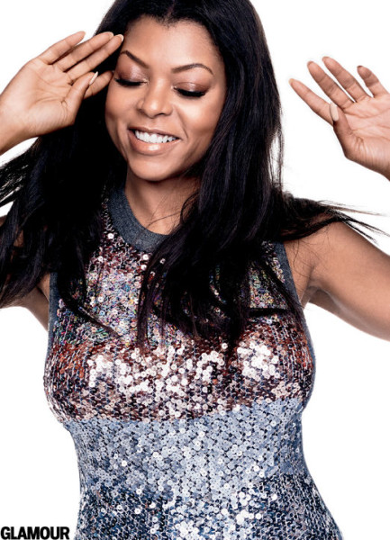 Taraji P. Henson lands Cover page of Glamour Magazine October 2015 Issue