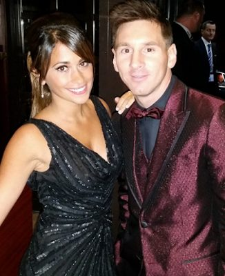 European Footballer of the year, Lionel Messi and Girlfriend Antonella Roccuzzo welcomes a new son