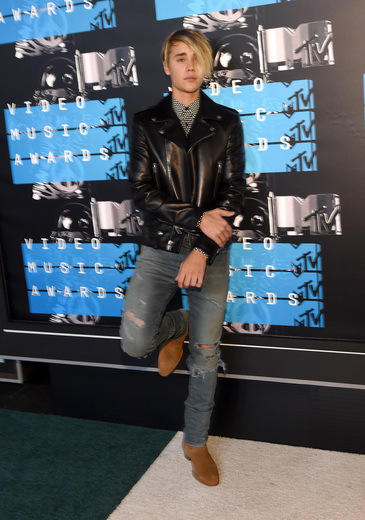 Justin Beiber at MTV VMA 2015