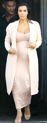 Kim Kardashian Rock Pink Dress,has she jets out for Event