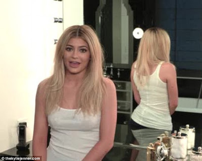Kylie Jenner Launced New App to share Secret  about her Voluptuous look