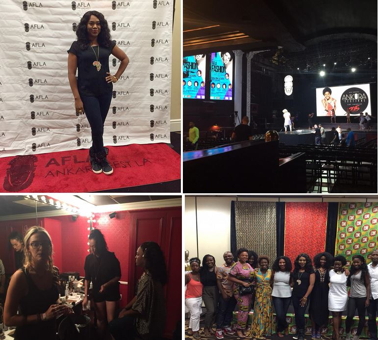 Nollywood Actress, Stella Damasus Rock High TOP Sneakers has she Host Ankara Festival Los Angeles