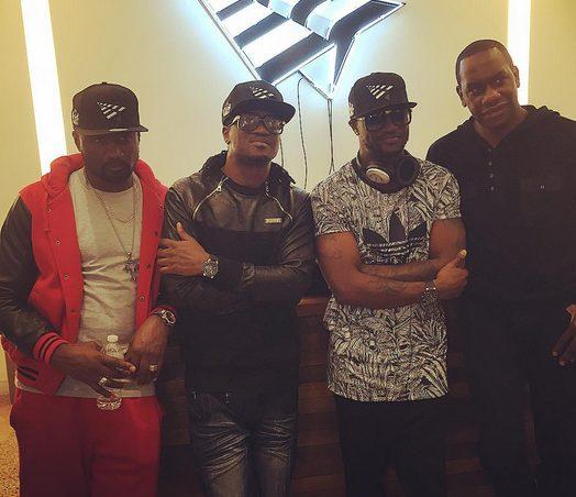 P-Square hang out at Jay Z tidal New York office