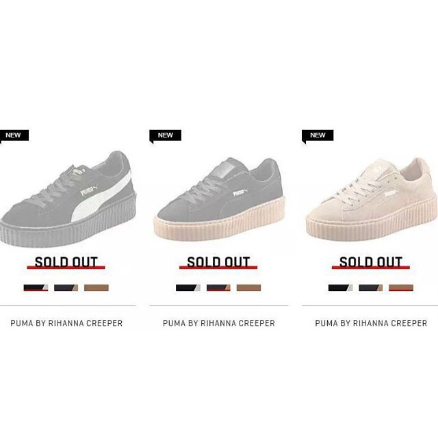 Rihanna Launches her Feminine Footwear Line, Fenty With Puma