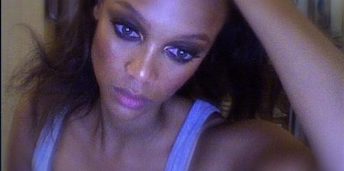 Tyra Banks Breakdown On Set of her New Talk show