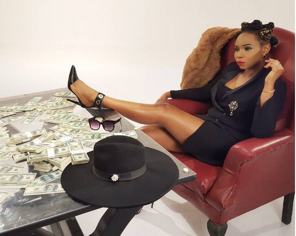 Yemi Alade The Boss Lady in New Photoshoot on Set of her New Music Video