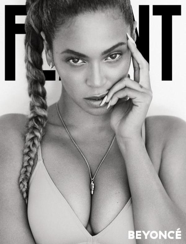 Queen B, Beyonce Fiercely covers Flaunt Magazine October Issue