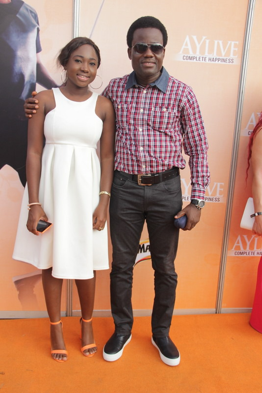 Red Carpet Photos From Ay Live Concert in Port Harcourt