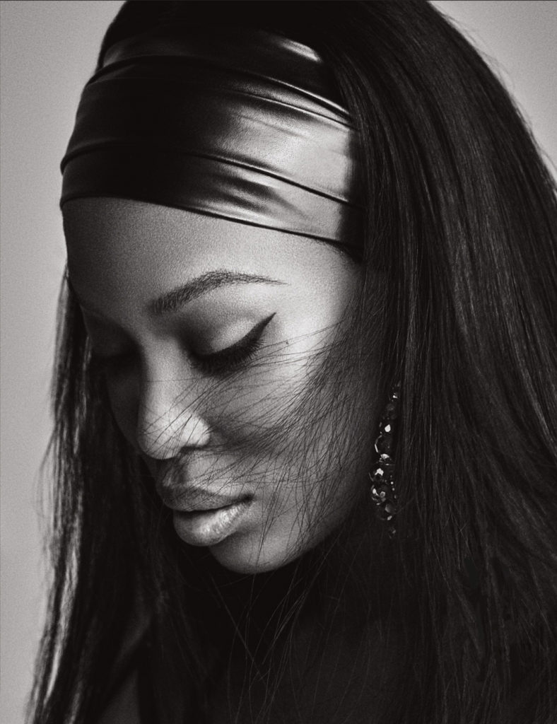 Naomi Campbell Poses Completely Nude For Lui October Magazine