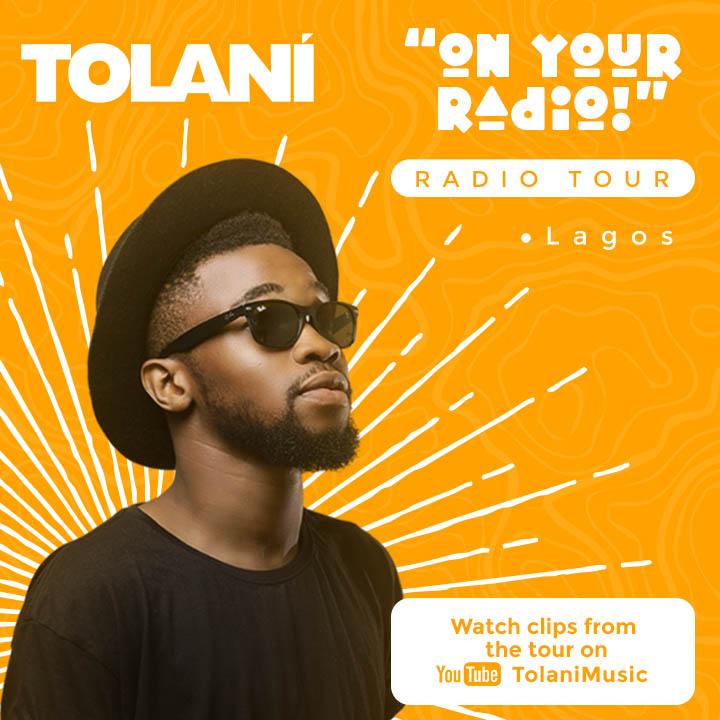 On Your Radio Tour By Tolani includes Freestyle on BeatFM with Segun Emdin