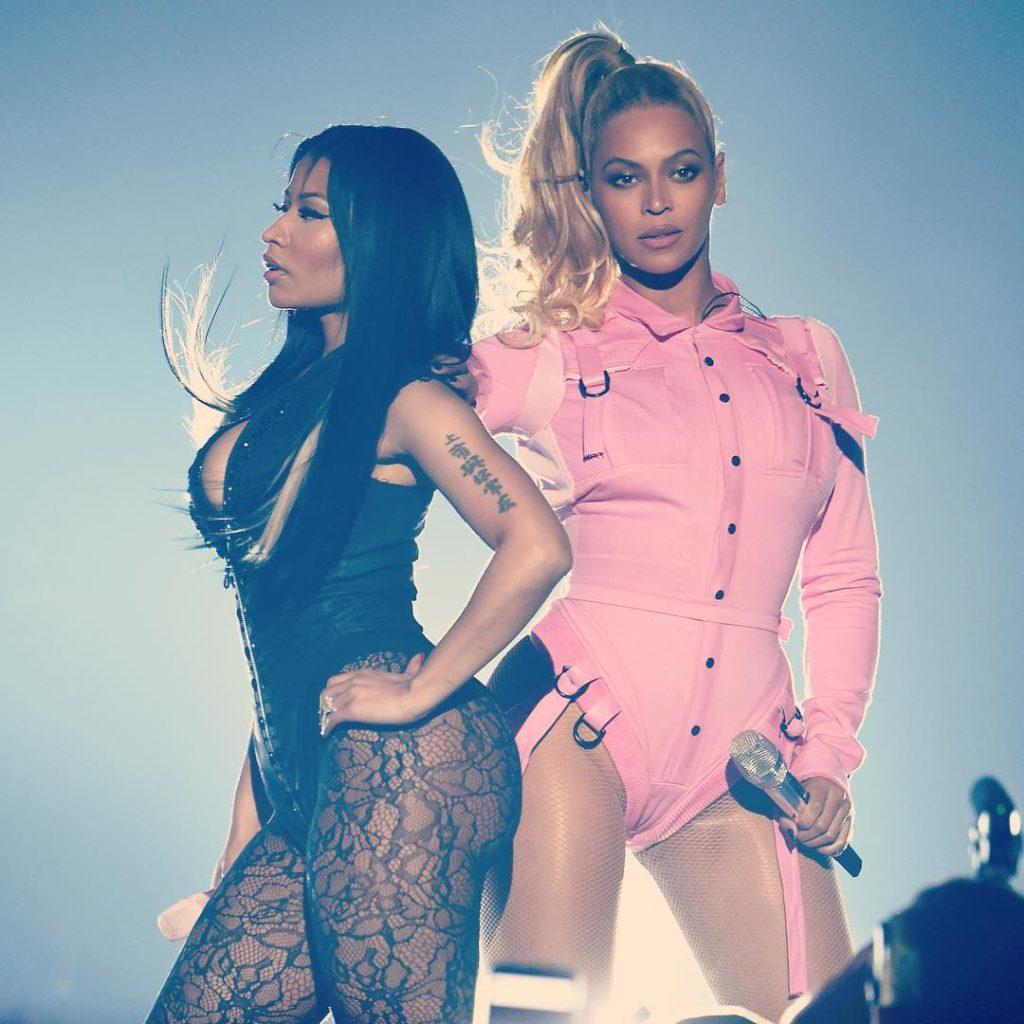 Beyonce and Nicki Minaj Performing at Tidal X Spectacular