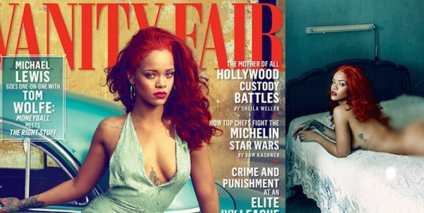 Rihanna Covers Vanty Magazine November Issue,as she talks about how she gets horny