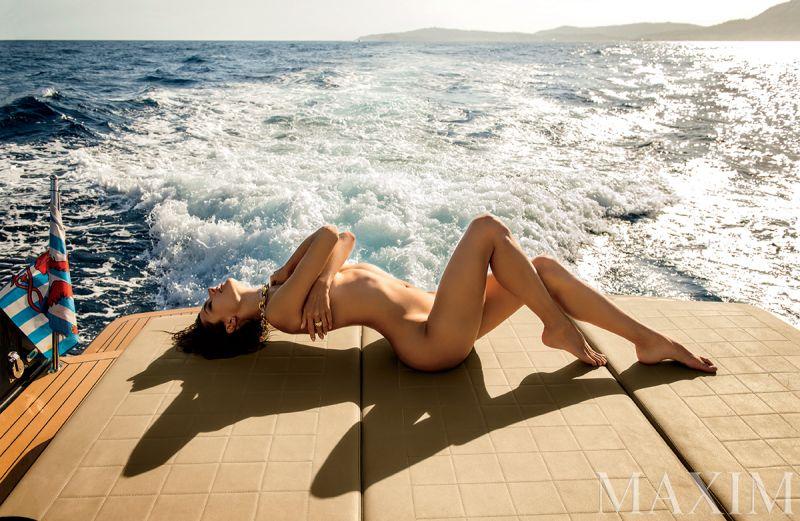 Alessandra Ambrosio Covers Maxim's December Issue