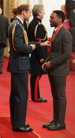 Chiwetel Ejiofor Awarded Commander Of the the Order of the British Empire