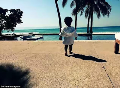 Ciara shares Photos of her, son and friends on Vacation