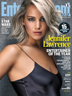 Jennifer Lawrence is Entertainment Weekly Entertainer of the Year