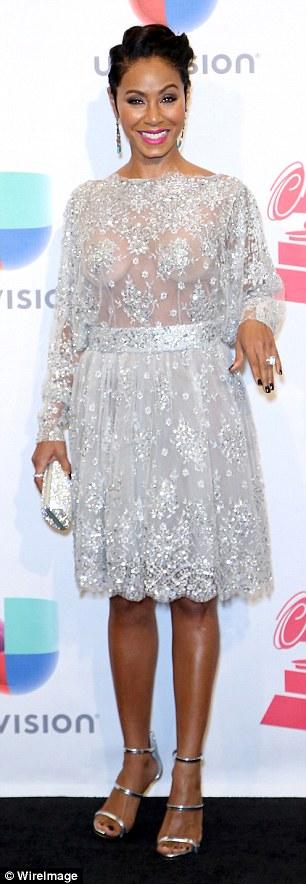 Jada Pinkett Smith at The 2015 Latin Grammy Awards