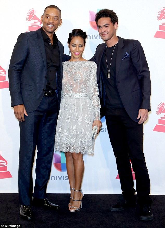 Jada and Will Smith at The 2015 Latin Grammy Awards