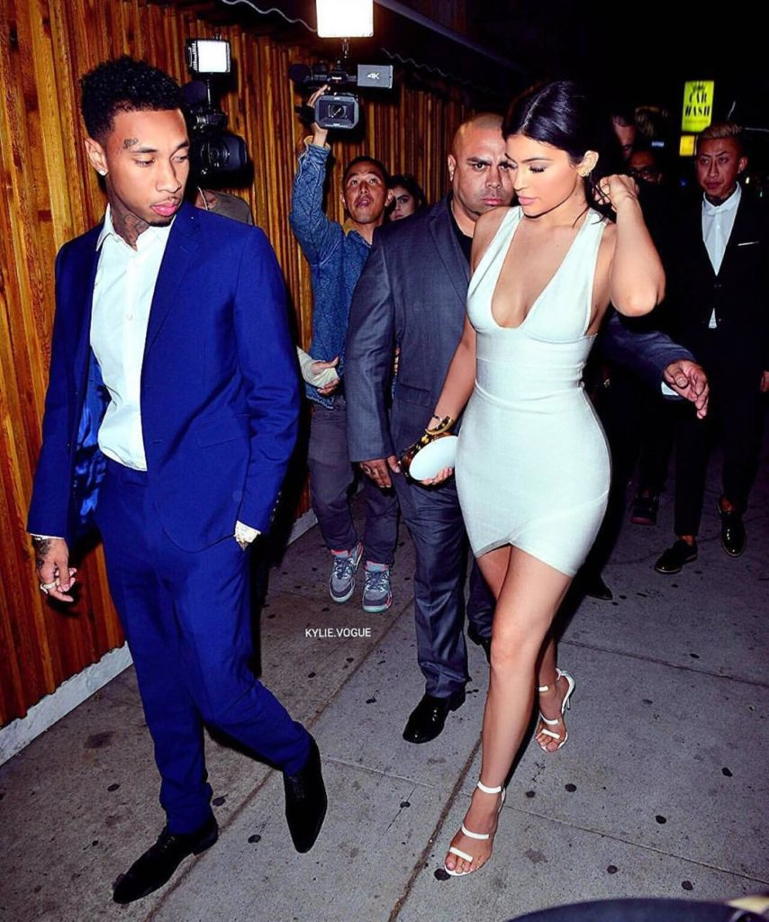 Kylie Jenner Calls Ex Boyfriend Tyga Chaos in a pics posted on her Instagram