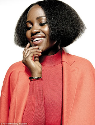 Oscar Winner, Lupita Nyong'o is the Cover Girl for Rhapsody Magazine December issue