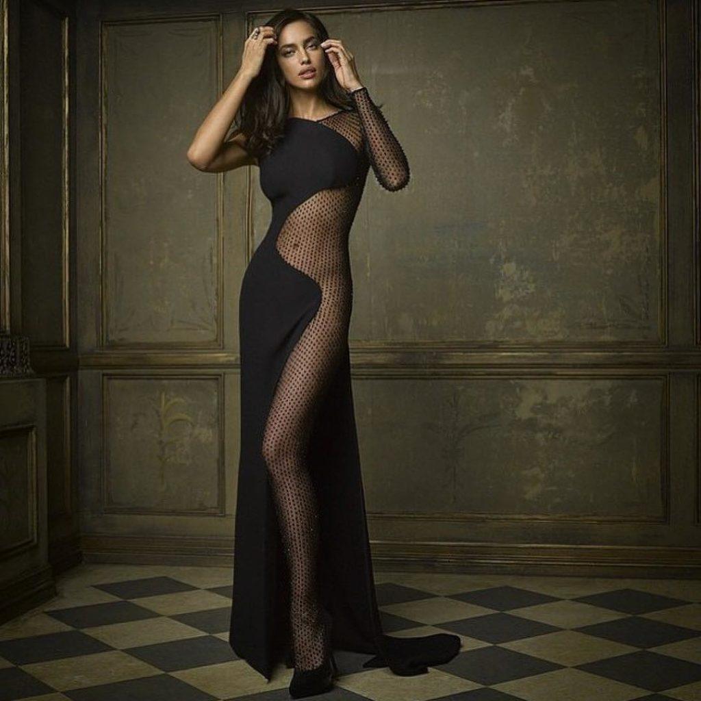 Irina Shayk Models For Vanity Fair Magazine
