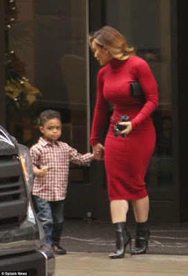 Daphne Joy Steps out in Style In NYC