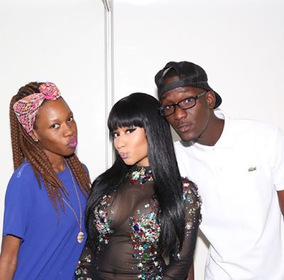 Nicki Minaj Performs  in Raunchy Outfit in Angola