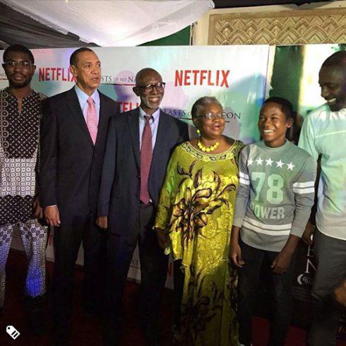 Idris Elba, Okonjo-Iweala,and other at its Red Carpet