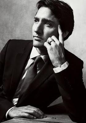 Justin Trudeau Pose For Vogue Magazine