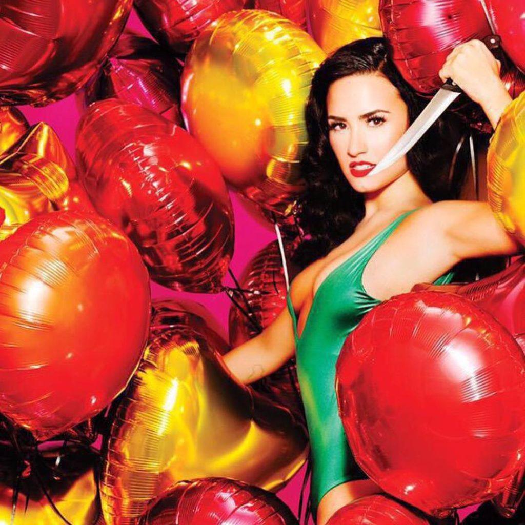 Demi Lovato Poses Topless for Complex Magazine