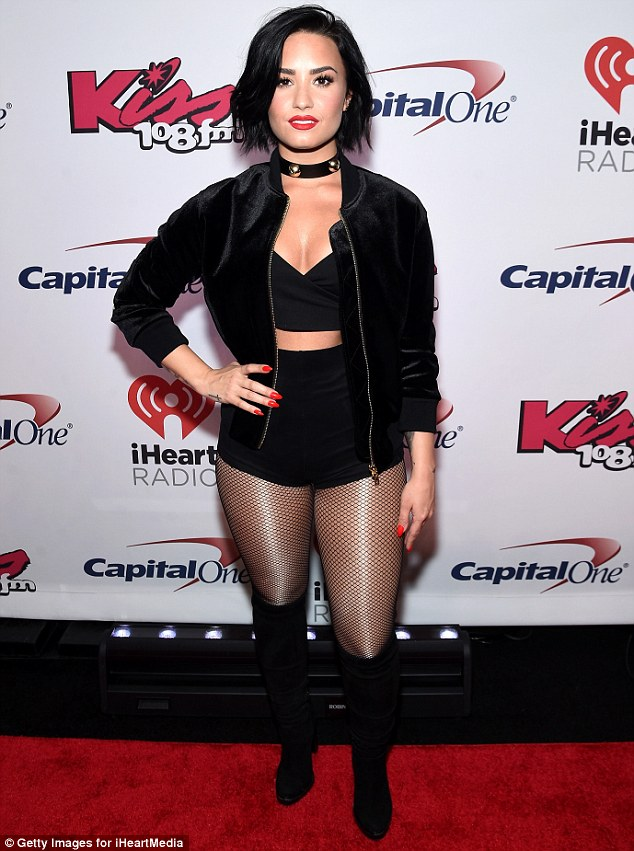 Demi Lovato sizzles in skimpy outfit