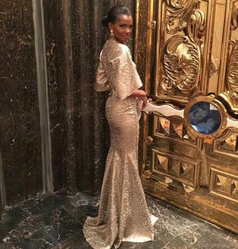Agbani Darego Flawless at the Miss World Beauty Pageant