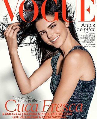 Kendall Jenner covers  Brazil's Vogue Magazine