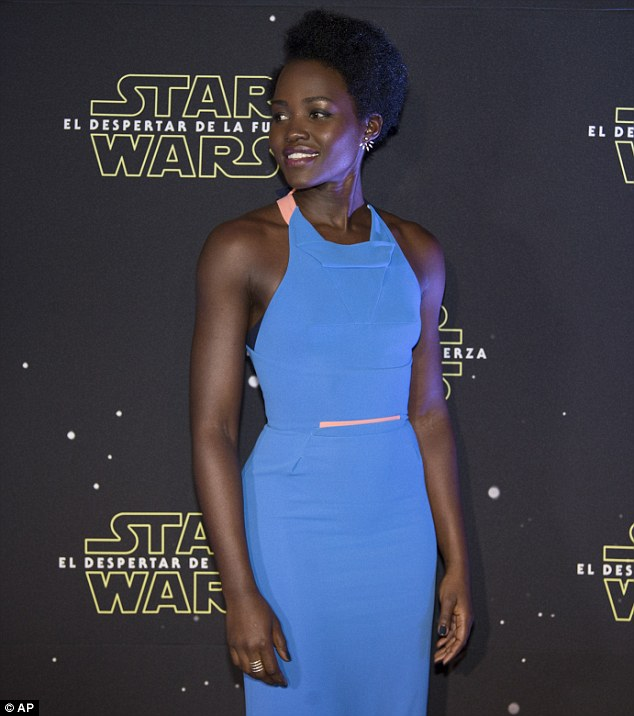 Lupita Nyong'O Dazzles in two Sexy Dress in Two Separate Photoshoot to Promote Star Wars