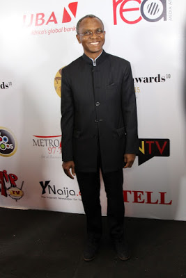 El Rufai at the Future Awards Africa 2015