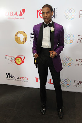 Red Carpet At the Future Awards Africa 2015