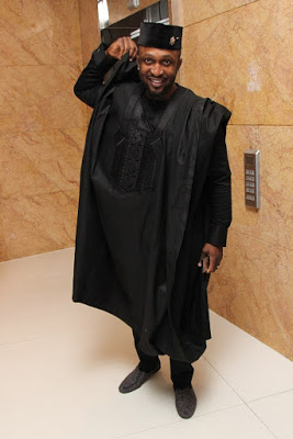 Dare Art Alade at the Future Awards Africa 2015