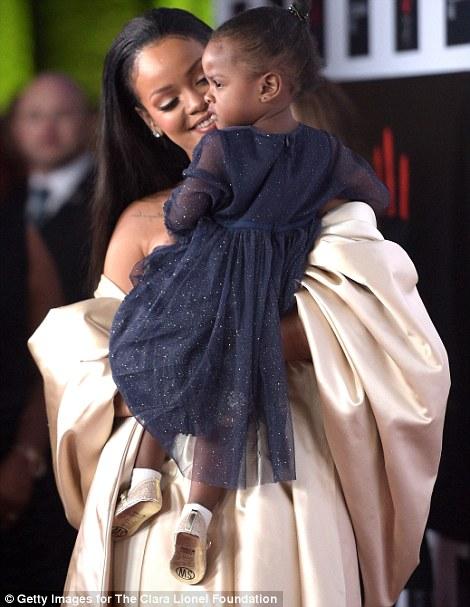 Rihanna and her Niece