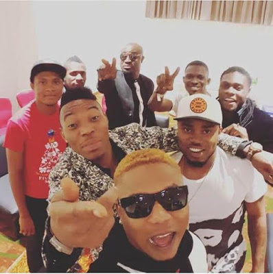 Stars, Celebrities at Olamide Live in Concert