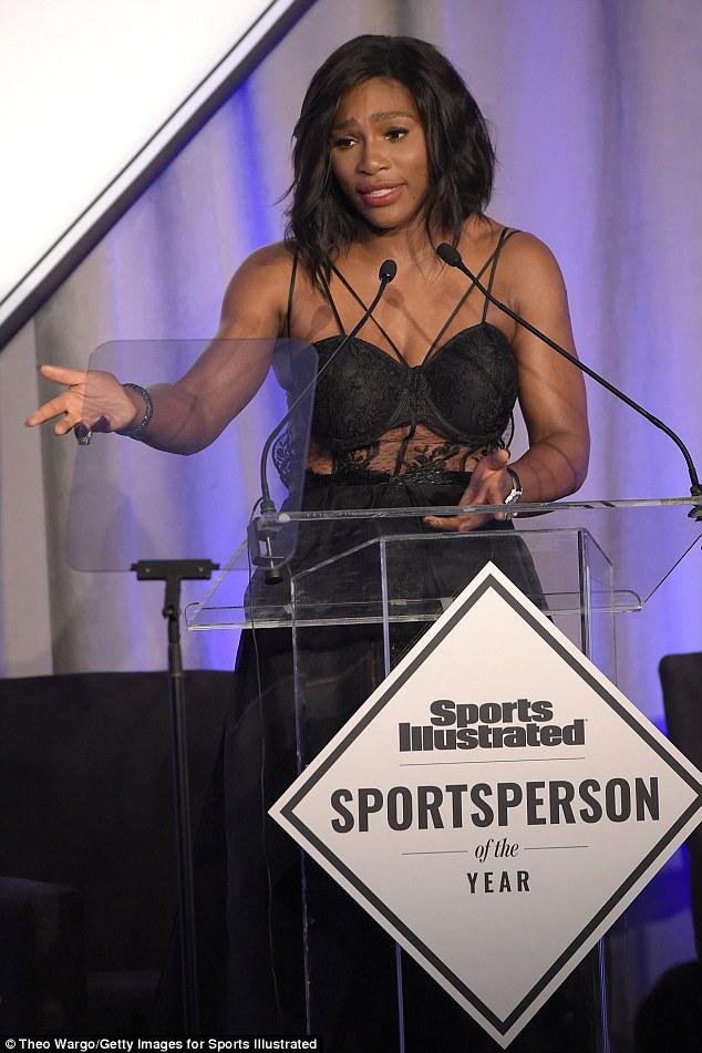 serena williams sports illustrated