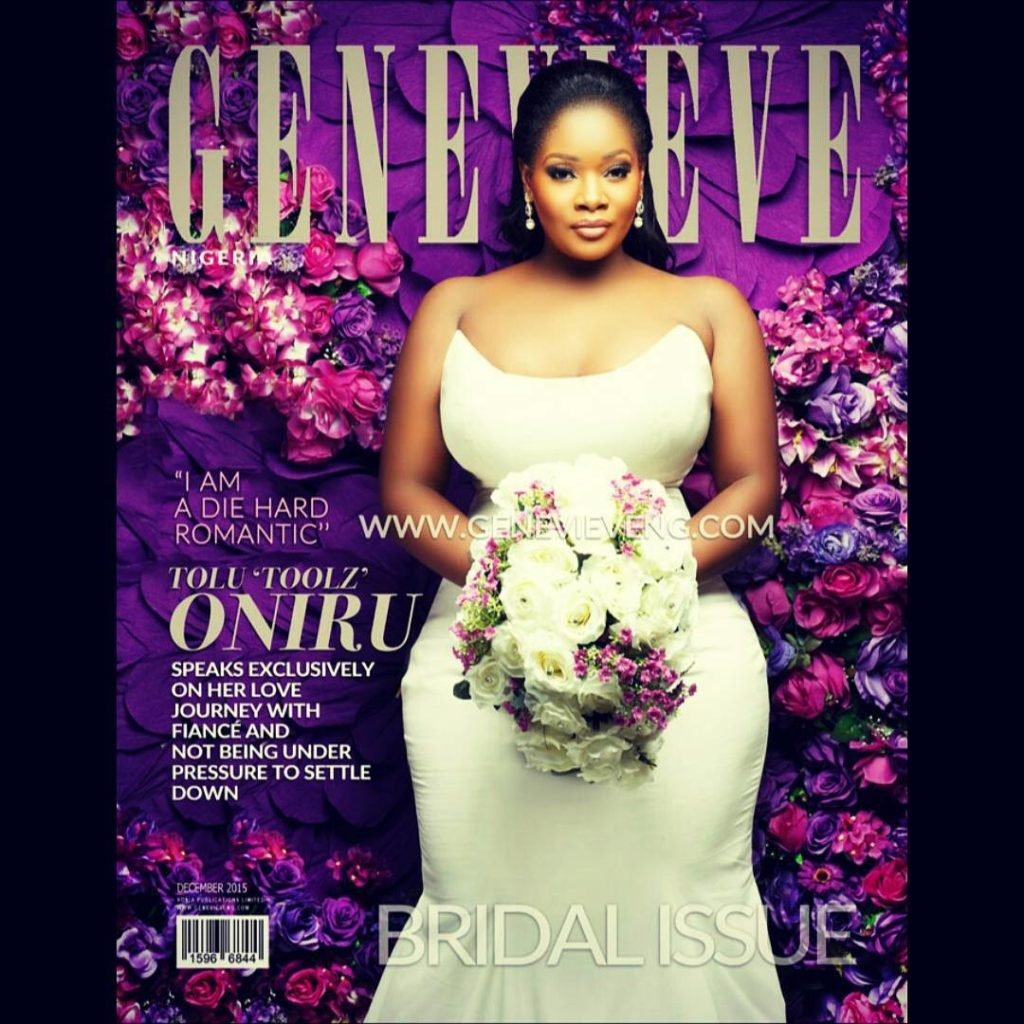 Toolz Oniru on the Cover of Genevieve Magazine