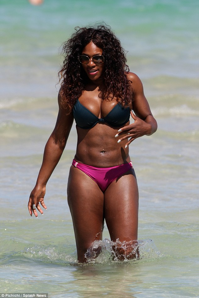 Serena Williams shows of Hot Bod in Response to her having a Man Built Body
